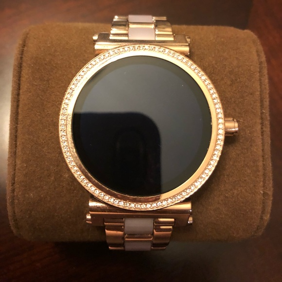 Michael Kors Accessories Michael Kors Sofie Rose Gold Smart Watch Poshmark
